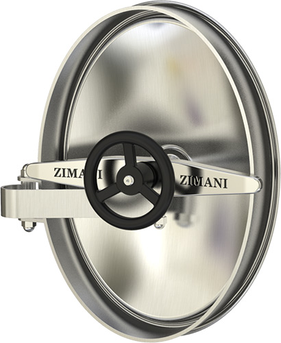Stainless Steel Oval Manlids ZKG 7031