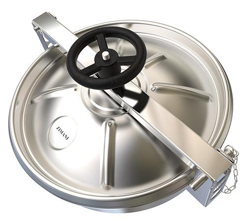 Stainless Steel Round Manway Outward-open SERD 7018