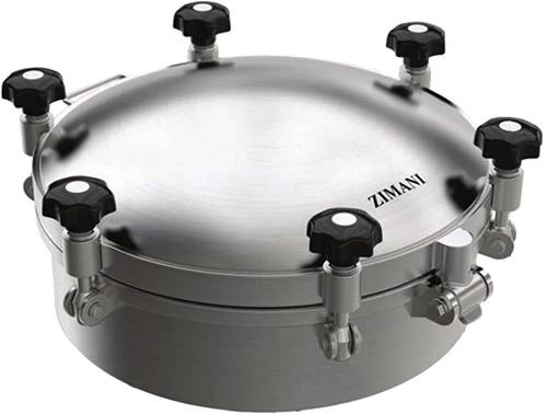 ZISD 7051 Round Pressure Dome Cover
