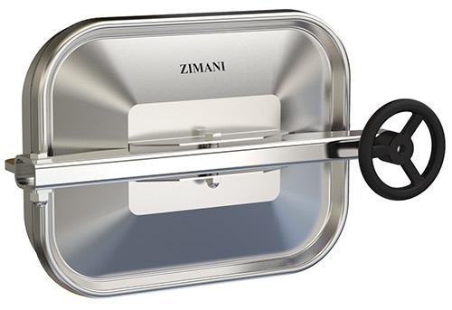 Stainless steel rectangular manway lids r d
